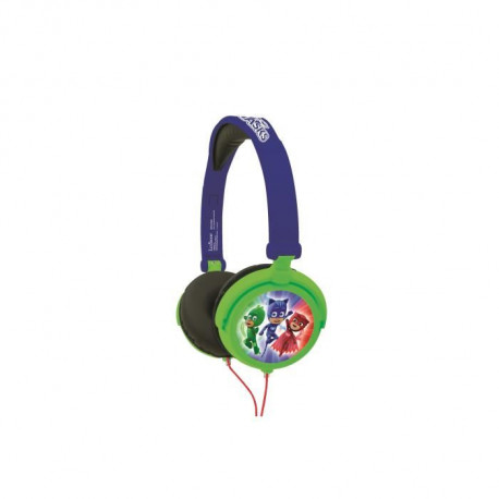 LEXIBOOK - PYJAMASQUE - Casque Audio Enfant