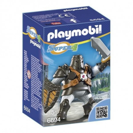 PLAYMOBIL 6694 - Super 4 - Colosse Noir