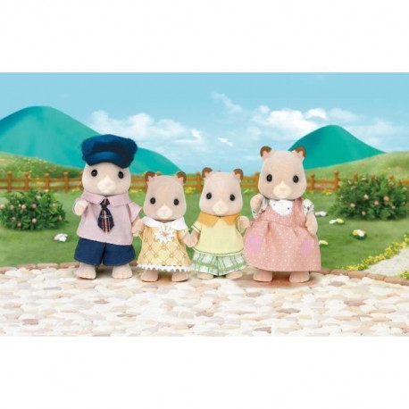 SYLVANIAN FAMILIES 3584 Famille Hamster