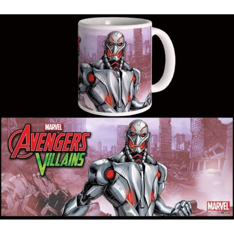 Mug Marvel Ultron Villains Série 2 Blanc