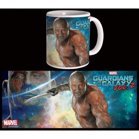 Mug Marvel Drax The Destroyer Gardiens De La Galaxie Vol 2 Blanc