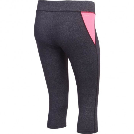 ONLY PLAY Legging 3/4 femme Linea - Noir / Rose