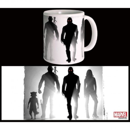 Mug Marvel Here We Go Gardiens De La Galaxie Vol 2 Blanc