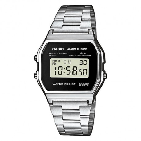 CASIO Montre Quartz A158WEA1EF Mixte