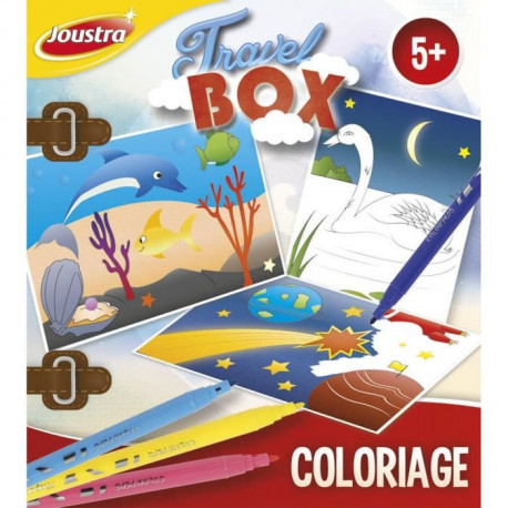 JOUSTRA Travel Box Coloriage
