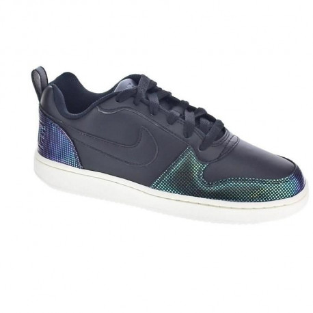 NIKE Baskets Court Borough Se - Femme - Noir