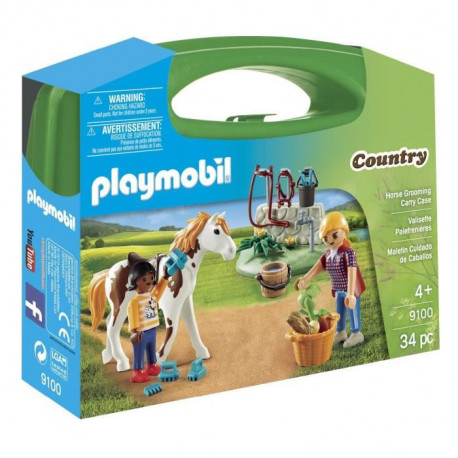 PLAYMOBIL 9100 - Country - Valisette Equitation