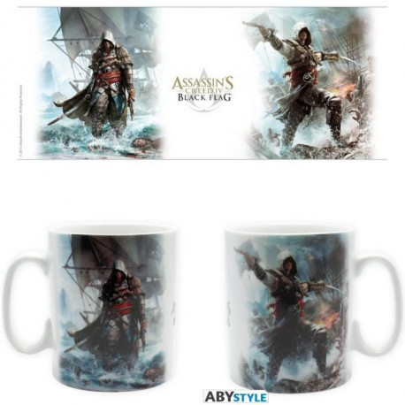 ABYSTYLE Mug Assassin'S Creed 4 - 460 ml