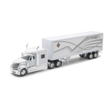 NEW RAY Camion LONESTAR Remorque - Miniature - 1/32° - 55 cm