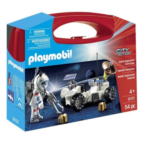 PLAYMOBIL 9101 - City Action - Valisette Astronaute