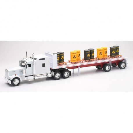 NEW RAY  Camion KENWORTH Transport Produits - Miniature - 1/32° - 55 cm
