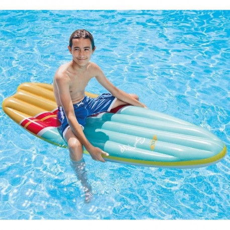 INTEX Matelas gonflable de Piscine Surf Fiber Tech