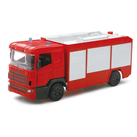 NEW RAY  Camion Pompier SCANIA - Miniature - 1/32° - 30 cm