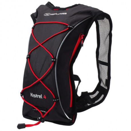 HIGHLANDER Pack Hydratation Kestrel 4 Noir Rouge
