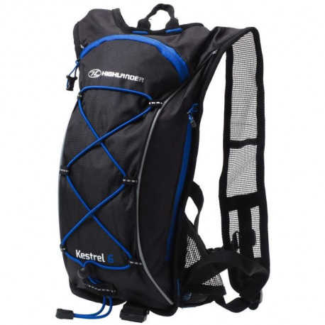 HIGHLANDER Pack Hydratation Kestrel 6 Noir Bleu
