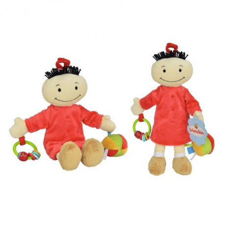 NICOTOY Peluche Fanfreluche 28 cm Rouge
