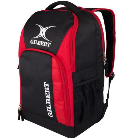 GILBERT Sac a dos CLUB V3 - H :47cm x L:30cm x P:20cm - Noir / Rouge