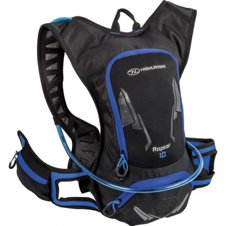 HIGHLANDER Pack Hydratation Kestrel 10 Noir Bleu