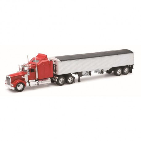 NEW RAY  Camion KENWORTH Transport Grains - Miniature - 1/32° - 55 cm