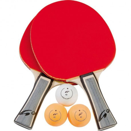 ATHLI-TECH Lot de 2 raquettes de tennis de table Go Unique