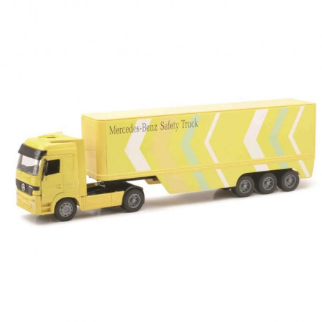 NEW RAY  Camion IVECO Conteneur - Miniature - 1/32° - 55 cm