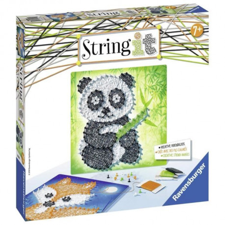 RAVENSBURGER String It Midi Panda & Fox