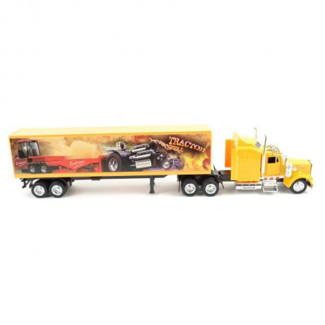 NEW RAY  Camion KENWORTH Décor Monster Truck - Miniature  - 1/43° - 36,5 cm