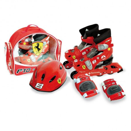 POWER RANGERS Pack Set de Protections + Casque