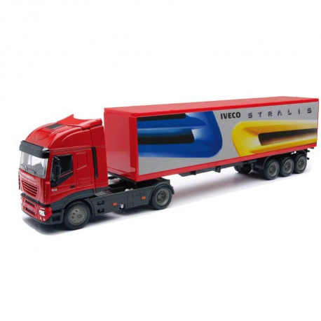 NEW RAY  Camion IVECO Conteneur - Miniature  - 1/43° - 36 cm