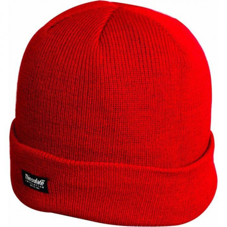 HIGHLANDER Bonnet de Ski Thinsulate Rouge