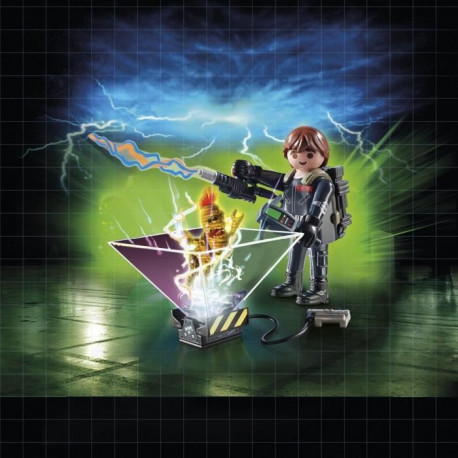 PLAYMOBIL 9347 - Ghostbuster - Playmogram 3D - Peter Venkman
