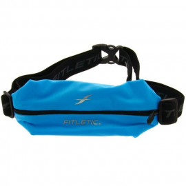 FITLETIC Ceinture Fitletic une poche élasthanne grand format - turquoise