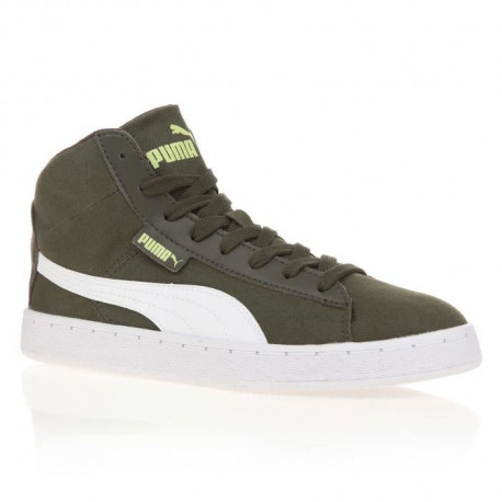 PUMA Baskets 48 Mid Canvas Homme - Kaki