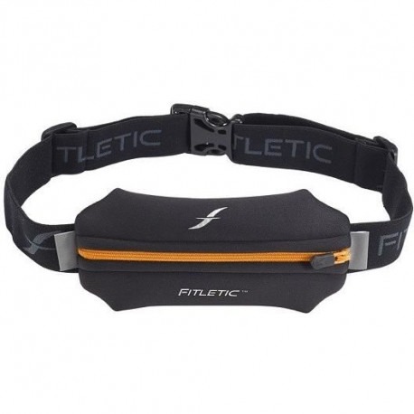 FITLETIC Ceinture FITLETIC une poche en néoprene - noir / orange