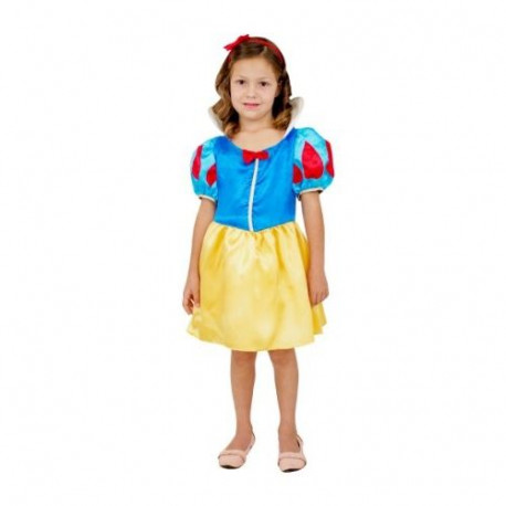 CESAR - F034 - Robe Blanche Neige  - 8 / 10 ans