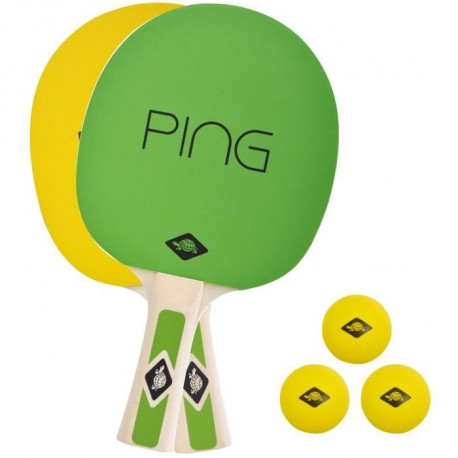 DONIC SCHILDKRÖT Raquette de tennis de table Ping Pong Set