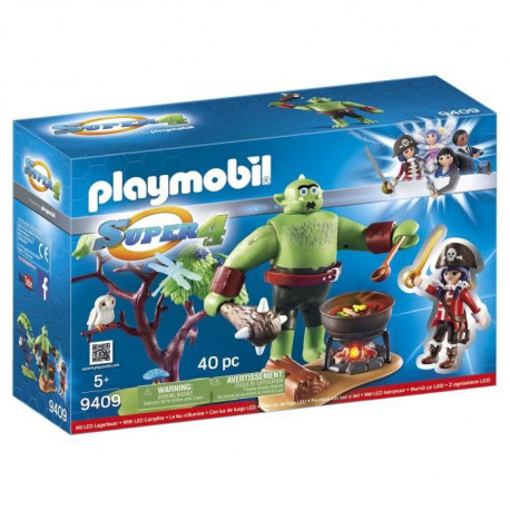 PLAYMOBIL 9409 - Super 4 - Ogre Géant