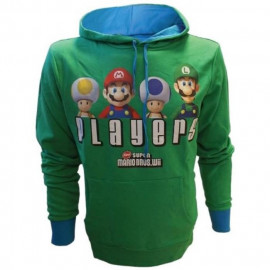 Sweat Capuche Players Vert