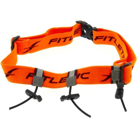 FITLETIC Ceinture porte dossard Fitletic - orange fluo