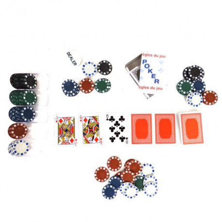 COFALU KIM'PLAY  Kit Poker 100 Jetons