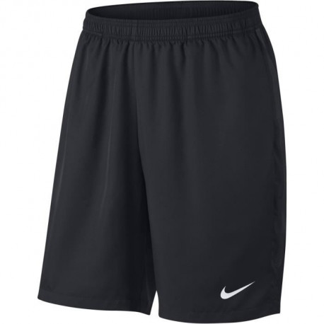 NIKE Short de tennis Dry 9IN- Homme - Noir