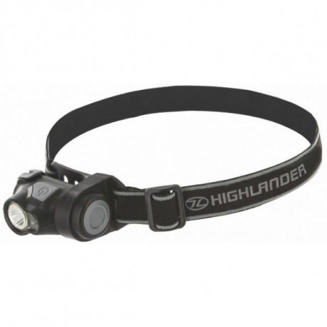 HIGHLANDER Lampe frontale Shine 3W Cree + 1  Red Led