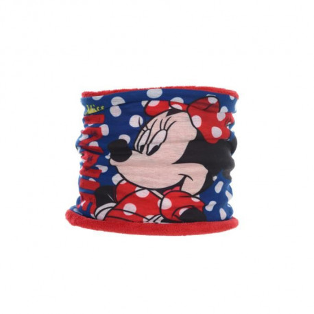 MINNIE Col réversible - Enfant fille - Rouge