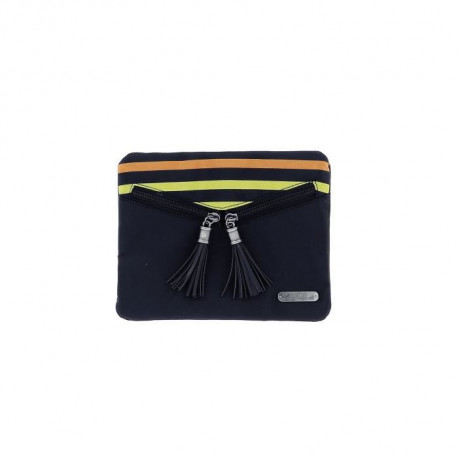 LITTLE MARCEL Little Marcel Pochette Pocket rayée multicolore