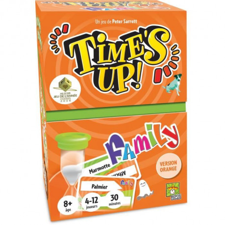 ASMODEE - Time's Up Family - Version Orange - Jeu de Société