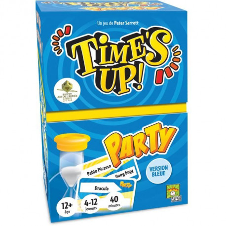 ASMODEE - Time's Up Party - Pack Bleu - Jeu de Société