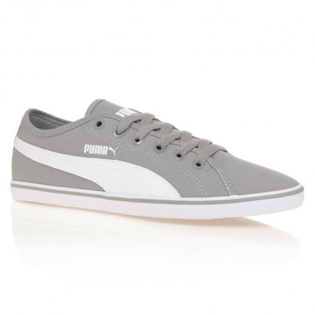 PUMA Baskets Elsu V2 Canvas Homme - Gris calcaire