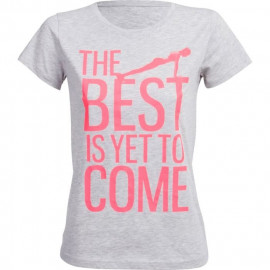 ONLY PLAY T-shirt femme Nellie Fitted - Gris