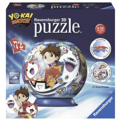 YO-KAI WATCH Puzzle 3D 72 pcs