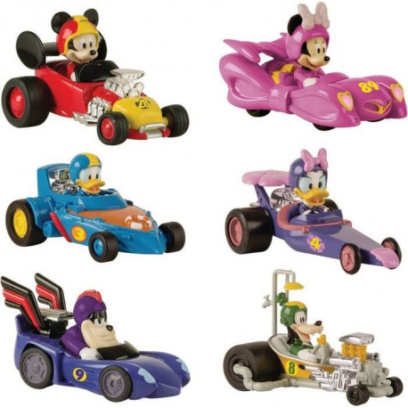 MICKEY ROADSTER RACERS Voiture Minnie Pack Mickey & Ses Amis Top Départ